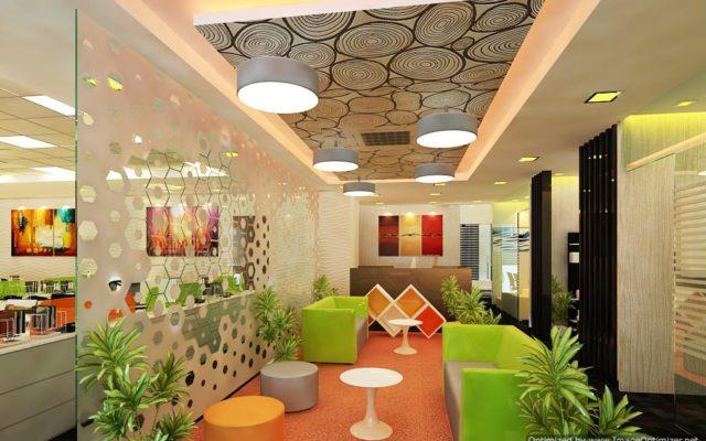 modern corporate interiors