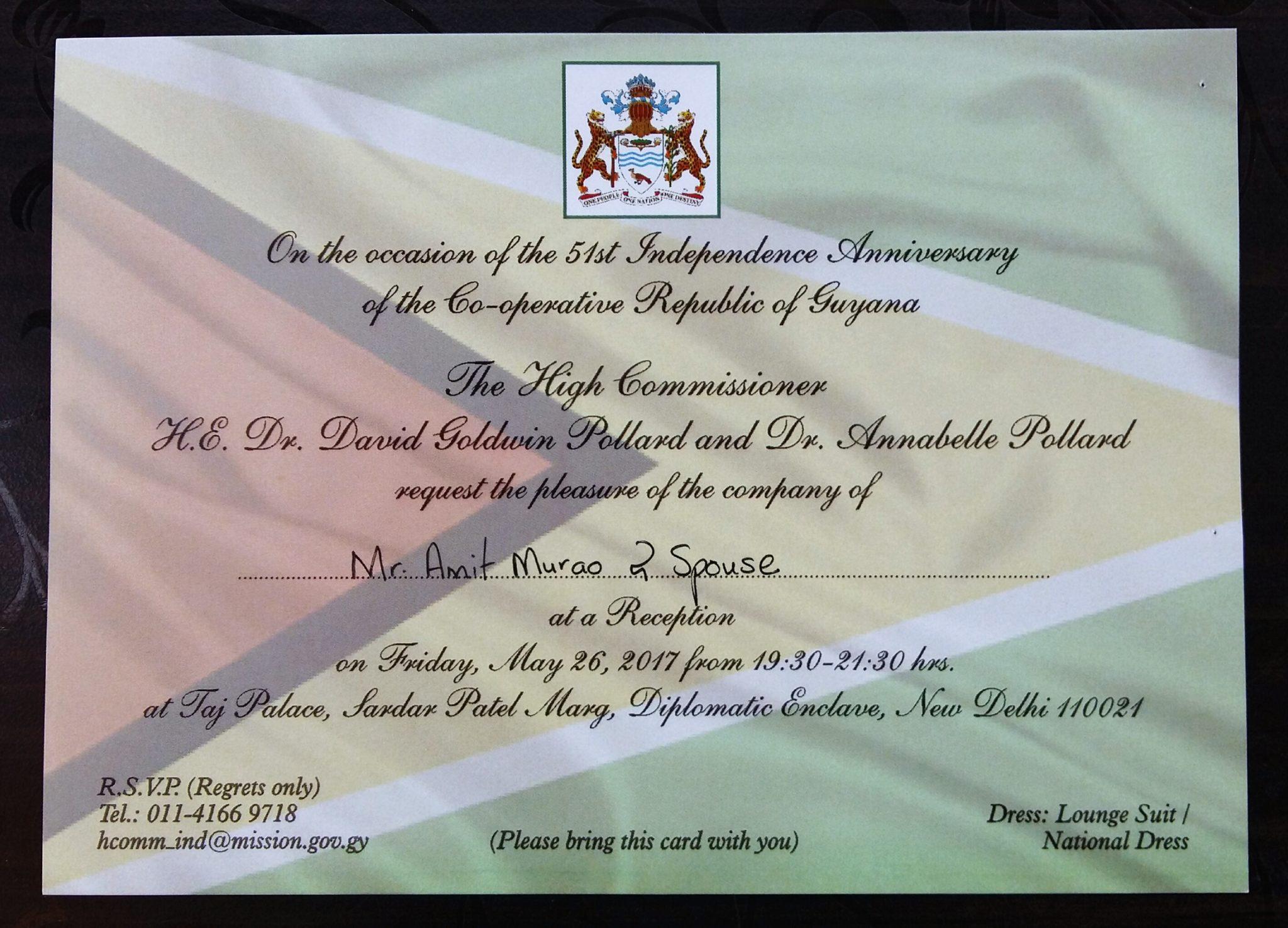 Guyana independence