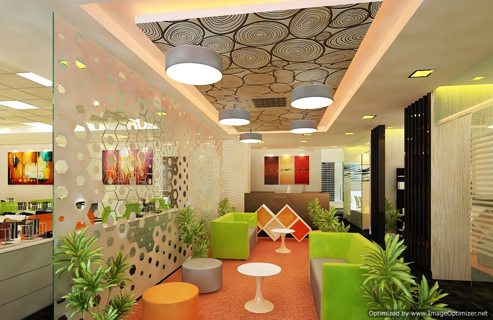 Tns noida modern corporate interiors for Architecture design for home in noida
