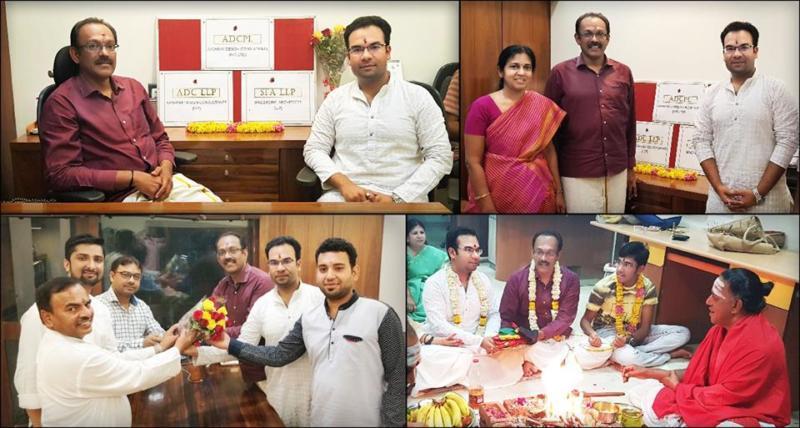 Foundation of ADC under Partnership of Ar. LA Murthy & Ar. Amit Murao