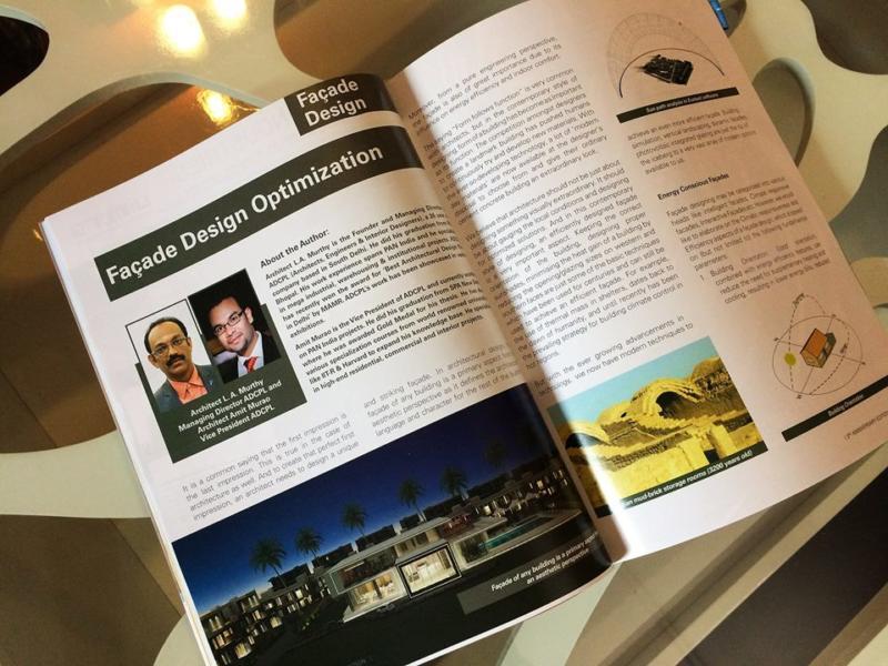Editorial in Windows  Facade Magazine - Facade Design Optimization